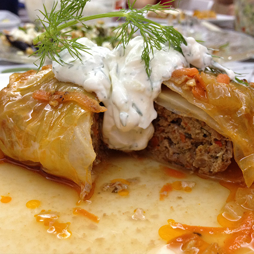 Lambs Mince Cabbage Wraps